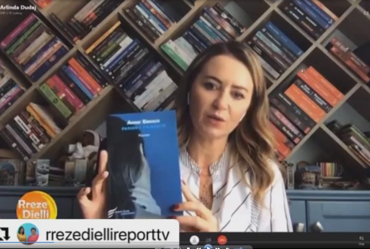 """Intervista e botueses Arlinda Dudaj për librin """"Pasion i thjeshtë"""" në Rreze Dielli"""