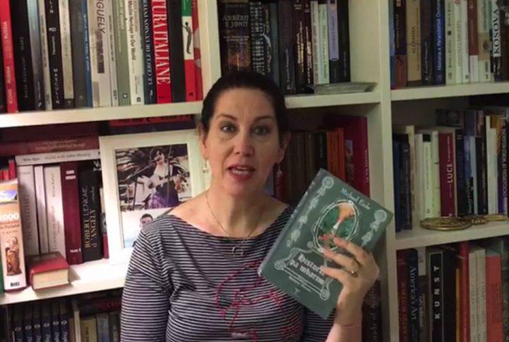 """Përshtypjet e Mirela Kumbaros për librin """"Historia pa mbarim"""""""