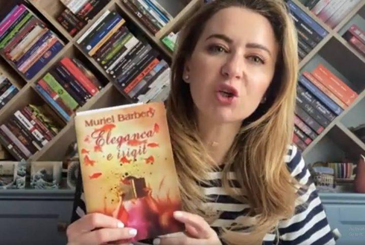"Botuesja Arlinda Dudaj flet për librin ""Eleganca e iriqit"""
